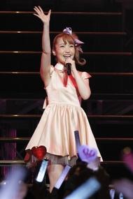 内田彩、持ち歌全部を披露する初の日本武道館ソロライブ開催決定