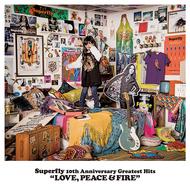 Superfly、オールタイム・ベスト『LOVE, PEACE & FIRE』がオリコン1位を獲得