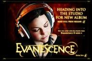 オフィシャルサイトでシーン復帰のレコーディング開始を発表したエヴァネッセンス