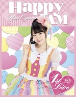 「小倉 唯 LIVE「HAPPY JAM」」Blu-rayジャケット