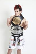 ブシロードレスリングでプロレスデビューを飾る、2010年 K-1WORLD MAX日本王者・長島☆自演乙☆雄一郎選手 ListenJapan