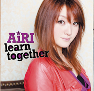 AiRI「learn together」ジャケット画像