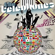 the telephones「Catastrophe」収録『DANCE FLOOR MONSTERS』ジャケット画像