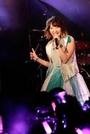 1月9日(土)に開催された、飯田里穂の渋谷CLUB QUATTRO公演の模様 Photo:Lisa Kozai