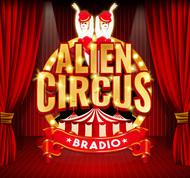 BRADIO presents 『エイリアンサーカス』ロゴ