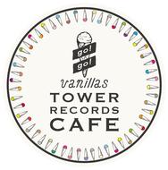 "go!go!vanillas×TOWER RECORDS CAFE表参道店""バニカフェ"" ロゴ"