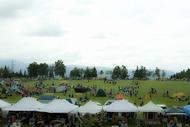 野外フェスとしては理想的な環境で開催される『TAICOCLUB camps'11』