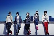 福島の球場で学生らと「虹」の合唱ライヴを行うAqua Timez Listen Japan