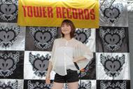 スペシャルイベントをタワレコ新宿店屋上にて開催したMay'n photo by kamiiisaka hajime ListenJapan