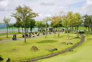 オールナイトの野外イベントとしては理想的な『TAICOCLUB camps'11』の会場ニュー・グリーンピア津南