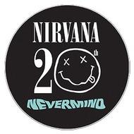 オフィシャルサイトに掲載されたニルヴァーナ『ネヴァーマインド』20周年のロゴ