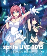 「sprite LIVE 2015 - Beyond the sky - Blu-ray」ジャケット (C)sprite/fairys | SHOT MUSIC ALL RIGHTS RESERVED. 「sprite LIVE 2015 - Beyond the sky - Blu-ray」ジャケット (C)sprite/fairys | SHOT MUSIC ALL RIGHTS RESERVED.