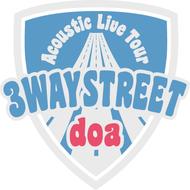 "『doa Acoustic Live Tour ""3WAY STREET""』ロゴ"