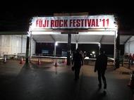 本開催を前に多数の来場者が訪れた<FUJI ROCK FESTIVAL '11>前夜祭 Listen Japan