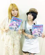 「Radioなおしゃべる。」パーソナリティのnao(左)、ゲストの喜多村英梨(右) ListenJapan