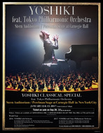 『YOSHIKI CLASSICAL SPECIAL Featuring Tokyo Philharmonic Orchestra』