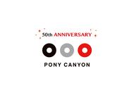 ポニーキャニオン50周年ロゴ