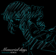 KOKIA「Memorial days」ジャケット画像 (C)創通・サンライズ・MBS KOKIA「Memorial days」ジャケット画像 (C)創通・サンライズ・MBS