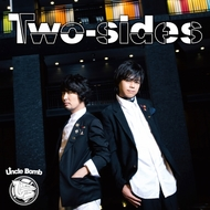 Uncle Bomb『Two-sides』通常盤ジャケット