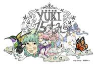 YUKI15周年記念ロゴ