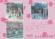 シングル「桜色ダイアリー」告知画像