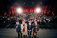 04 Limited Sazabys、武道館公演を収めた映像作品の先行プレミアム上映会&トークショーが大盛況!