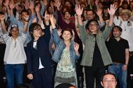 6月25日(日)、一夜限りのプレミア上映会でメンバー初の舞台挨拶