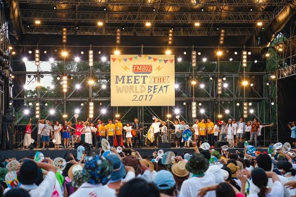 ゆず、Suchmosなど豪華な出演陣が集ったFM802主催『MEET THE WORLD BEAT 2017』が大盛況!
