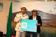 EXILE USAとINORANが「テキーラの日」記念イベントにてPR大使に任命