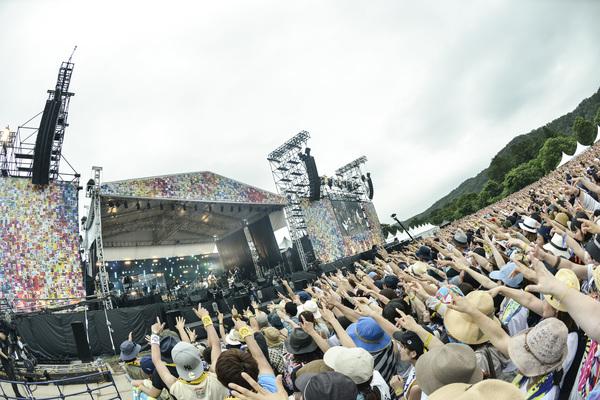 『Reborn-Art Festival 2017 × ap bank fes』約3万5千人を動員! 桜井和寿、小林武史、秦基博によるコラボステージも!!