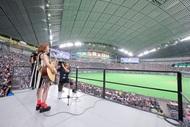 瀬川あやかが札幌ドームで生歌唱
