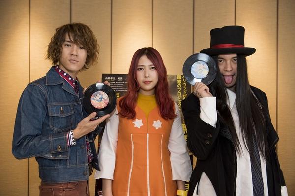 GLIM SPANKY、KenKen、映画タイアップ曲を収録したアナログ盤をリリース