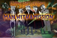 MAN WITH A MISSION ハロウィンパネル