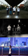 the band apart、sans visage、荒井岳史