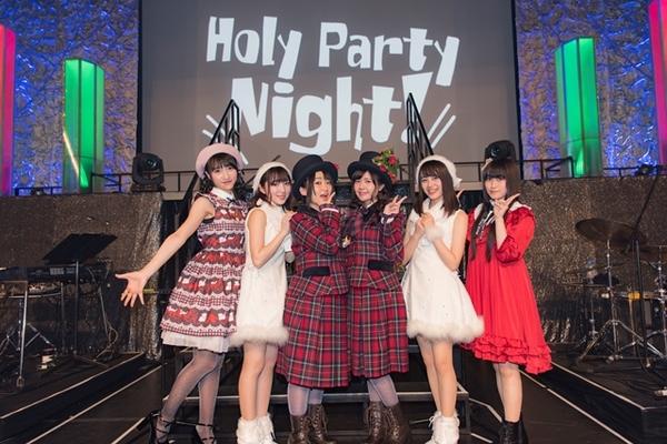 クリスマスイベントにpetit milady、Pyxis、山崎エリイ、村川梨衣が集結
