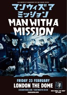 MAN WITH A MISSION、全英ツアーファイナルはロンドン単独公演