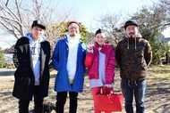 10-FEET×ドラマ『バイプレイヤーズ〜もしも名脇役がテレ東朝ドラで無人島生活したら〜』キャスト写真