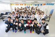 超特急が国際文化理容美容専門学校 渋谷校を訪問