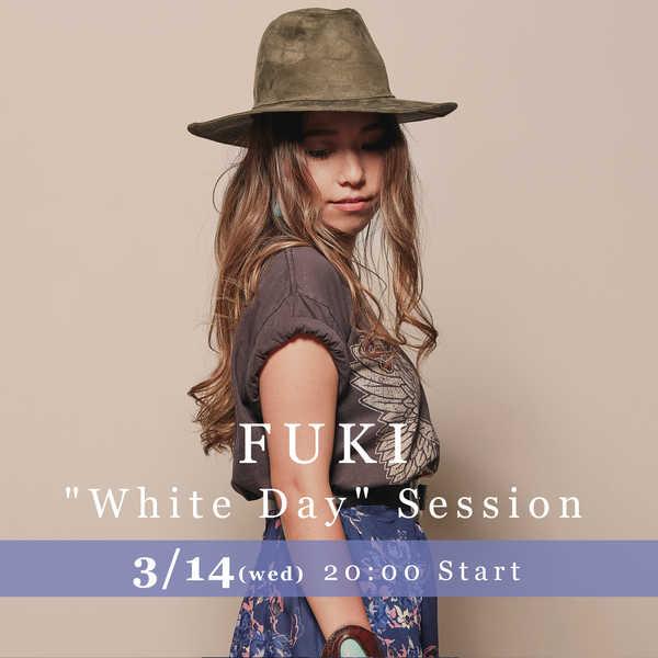 FUKI、ホワイトデーにライブセッションの生中継が決定