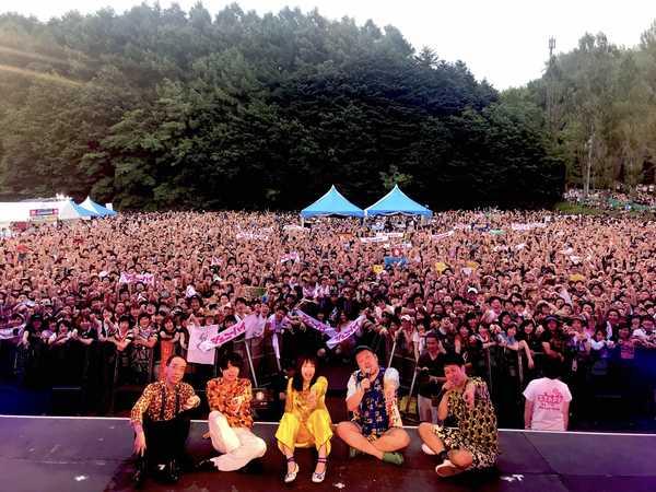 ジェニーハイ、初の夏フェスはラップで幕開け&ミニアルバムリリースを発表
