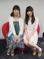 ラジオ番組「もしも声優がいっぱい住んでいるマンションがあったら」のパーソナリティーを務める三宅麻理恵さんと秦佐和子さん