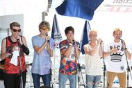 After Romeo、FMヨコハマ「FamilyMart collection PRESENTS CATCH OF SUMMER」の公開生放送に出演。