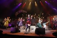 """2014年4月から開催された茅原実里のライブツアー""""アニメロミックス Presents Minori Chihara Live Tour 2014 ~NEO FANTASIA~ Supported by JOYSOUND"""""""