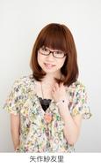 「Radio Cross Returns」パーソナリティを務める声優の矢作紗友里