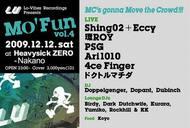 今夏はじまった新パーティ『MO' FUN -Vol.4-』でShing02+Eccyライヴ