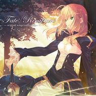 武内崇描き下ろし、『Fate/Recapture-original songs collection-』ジャケット画像 C)TYPE-MOON / Fate-UBW Project.