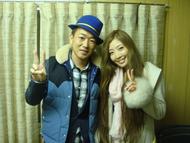 初のコラボレーションを実現させたTiaraとSEAMOのツーショット写真 Listen Japan