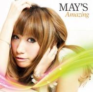 シングルヒット曲、タイアップ曲が満載、MAY'Sの2ndアルバム『Amazing』(初回盤) Listen Japan