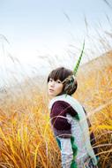 今年2010年には二十歳を迎える清浦夏実 ListenJapan
