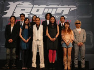mihimaru GTがゲスト出演した映画「猿ロック THE MOVIE」映画完成披露試写会